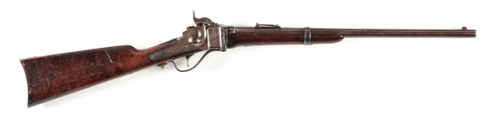 (A) 2ND CAVALRY MARKED US SHARPS MODEL 1868 CONVERSION BREECHLOADING CARBINE.