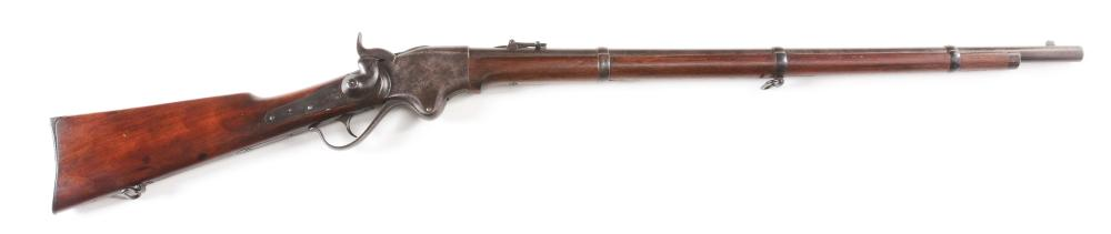 (A) CIVIL WAR SPENCER MODEL 1860 REPEATING RIFLE.