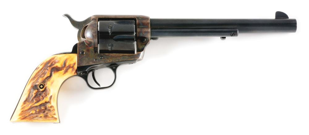 (M) COLT SECOND GENERATION SINGLE ACTION ARMY .45 REVOLVER (1972).