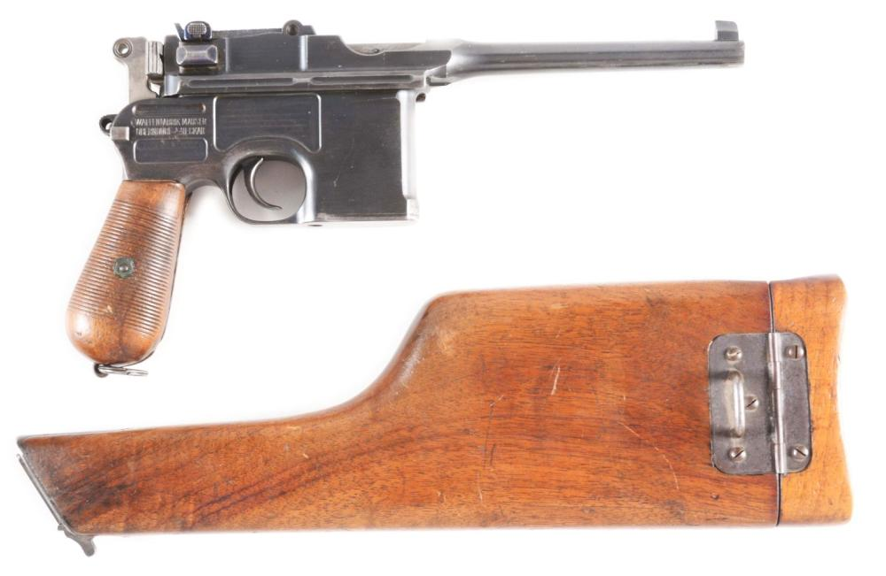(C) C-96 COMMERCIAL BROOMHANDLE MAUSER.
