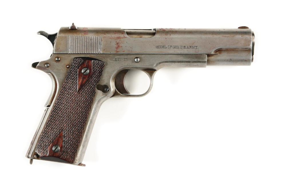 (C) EXTREMELY EARLY AND RARE U.S. MARINE CORP COLT MODEL 1911 SEMI-AUTOMATIC PISTOL (1913).