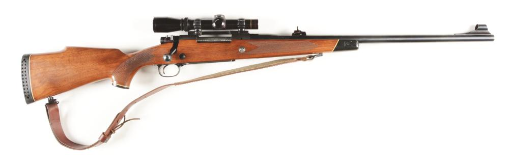 (M) WINCHESTER MODEL 70 .375 HOLLAND & HOLLAND BOLT ACTION RIFLE.