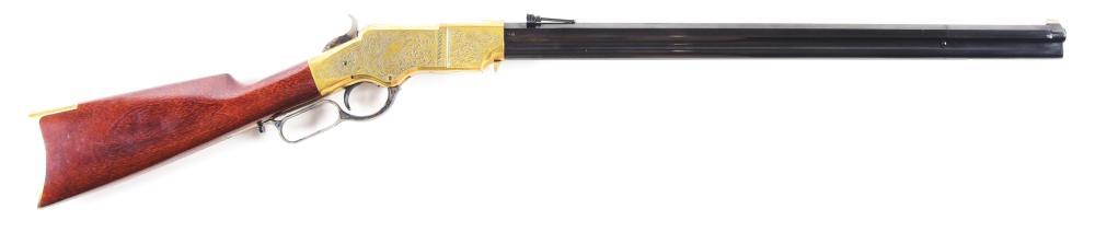 (M) UBERTI 1860 HENRY LEVER ACTION RIFLE.