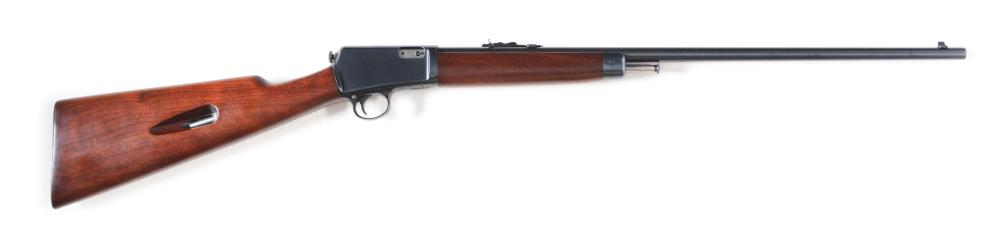 (C) RARE STRAIGHT STOCK AS NEW MINTY WINCHESTER MODEL 63 SEMI-AUTOMATIC RIFLE (1954).