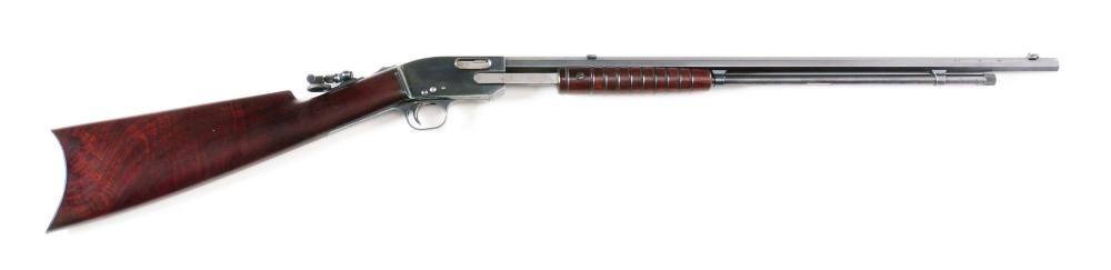 (C) FINE MERIDEN ARMS MODEL 15 .22 PUMP ACTION RIFLE, SERIAL NUMBER 3.