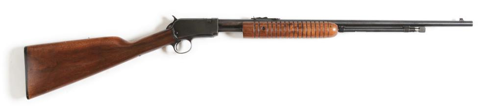(C) WINCHESTER MODEL 62A SLIDE ACTION .22 RIFLE (1947).