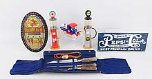 Lot of 6: Advertising Pieces.