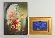 Lot of 2: Advertising Pieces.