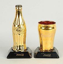Lot of 2: Coca-Cola Awards.