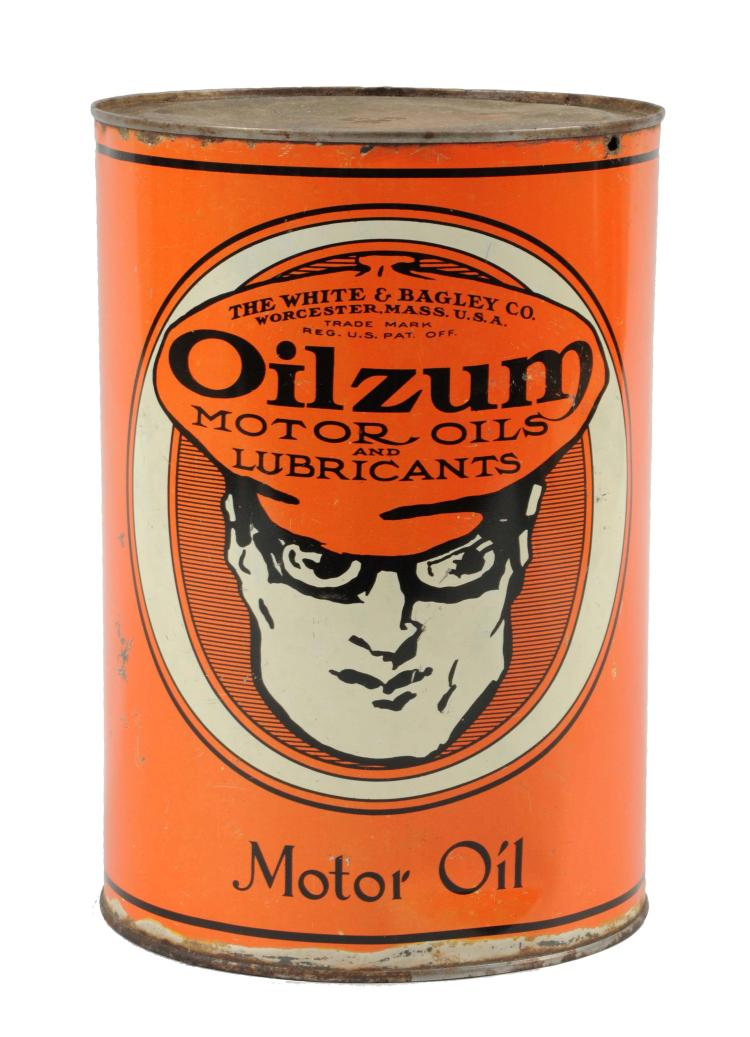 Oilzum Motor Oil Five Quart Can