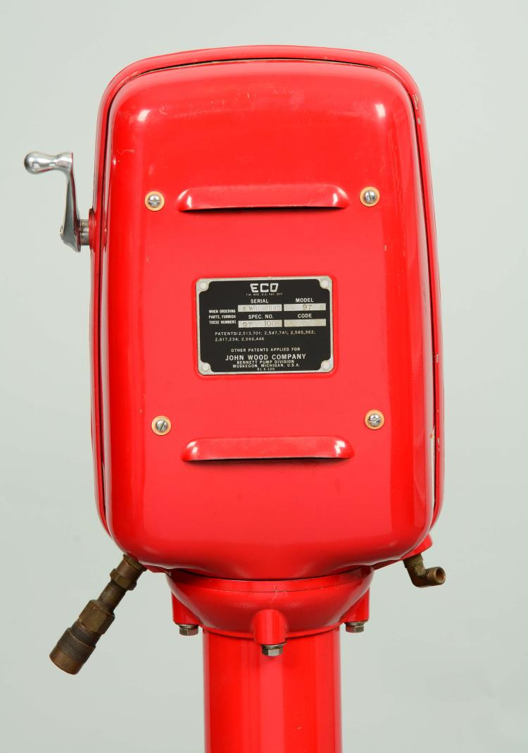 Eco Air Meter : Eco model air meter on a stand