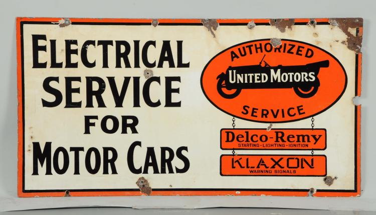 United motor service electric service for motor cars porcela for Electric motor repair company