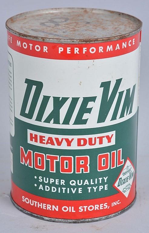 Dixie vim heavy duty motor oil one quart can for How long does motor oil last