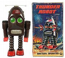 Tin Painted Thunder Robot.