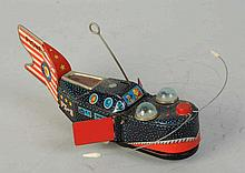 Tin Litho Wind-up Space Whale.