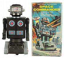 Tin Litho Plastic Space Commander.