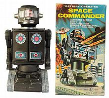 Tin Litho & Painted Space Commander.