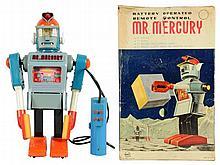 Tin Litho & Plastic Mr. Mercury.