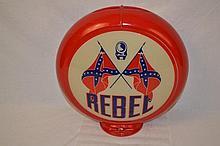 Original Rebel with Crossed Rebel Flags.
