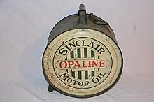 Sinclair Opaline 5 Gallon Rocker Can.