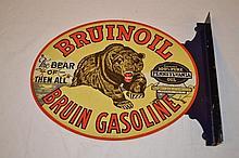 Bruinoil Bruin Gasoline.