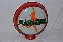 Marathon with running Man Logo 15