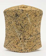 Speckled Quartz Saddleback Bannerstone.