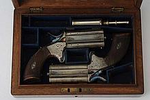 Woodward .28 Rimfire cal. Pistols.