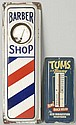 Lot of 2: Advertising Thermometers.
