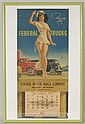 1942 Federal Trucks Calendar.