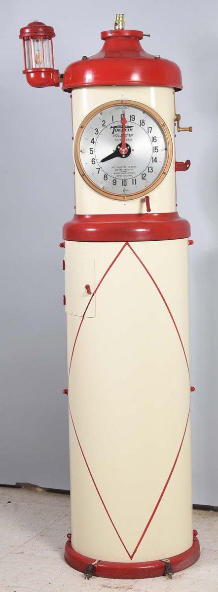 Tokheim Model #850 Clock Face Gas Pump