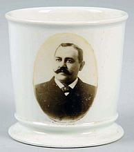 Photographic Portrait Shaving Mug.