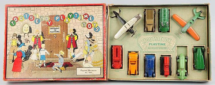 Tootsietoy Playtime Miniature Set.