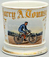Bicycle Shaving Mug.
