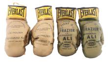 1971 Fight of the Century & 1974 Super Fight II Golden Gloves.