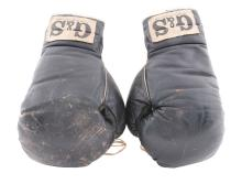 1972 Era Muhammad Ali Sparring Gloves.
