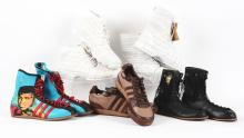 5 Pairs of Muhammad Ali and Boxing Related Footwear.