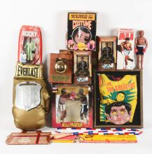 Lot of 27: Vintage and Contemporary Ali and Other Items.