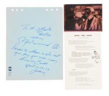 Muhammad Ali Signed Expression.