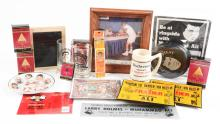 Large Lot of 50+ Vintage and Contemporary Muhammad Ali Items.