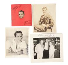 Lot of 15+: Jack Dempsey, Max Baer & Others Signed Boxing Memorabilia.