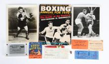 Rocky Marciano Album Collection with Photos & Signed Register.