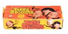 1966 Three Stooges Wax Box.