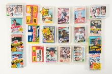 Lot of 23: Star & Rookie Cello & Rack Collection Featuring Marino & Ripken Rookies