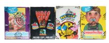 1980's Pop Culture Wax Boxes Including Pac-Man (BBCE).