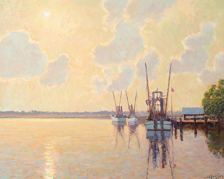 Malcolm Hughes - Warm & Cool on the Altamaha