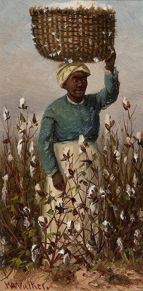 William Aiken Walker - Pickin' Cotton