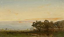 James Brade Sword - Farm Pond at Dusk