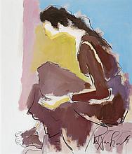 Marge Parker - Seated Figure