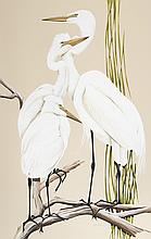 Art LaMay - Great White Heron Family